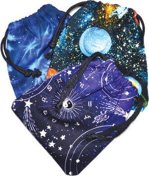 """Astrology tarot bag 6"""" x 9"""""""