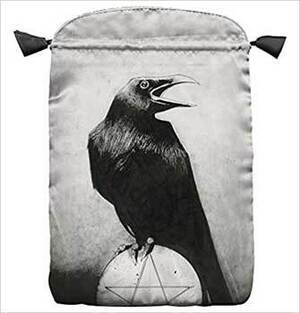 """Murder of Crows Tarot Bag by Lo Scarabeo 6"""" x 9"""""""