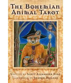 Bohemian Animal tarot (dk & bk) by King & McLeod