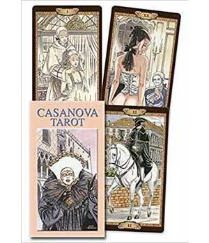Casanova Tarot by Luca Raimondo