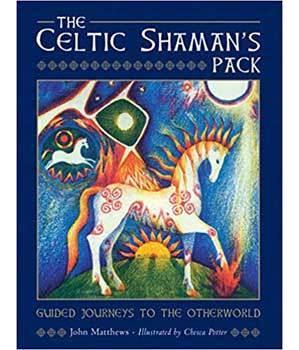 Celtic Shaman's pack Deck & Book by Matthews & Potter