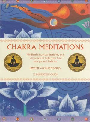 Chakra Meditations cards by Swami Saradananda