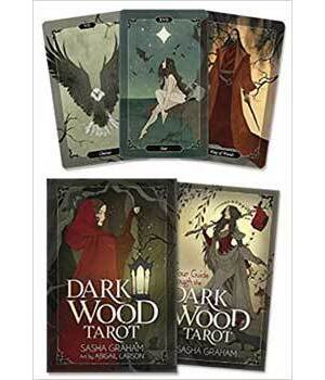 Dark Wood tarot deck & book by Graham & Larson