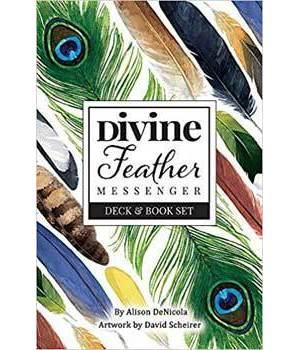 Divine Feather Messenger by Wulfing Von Rohr