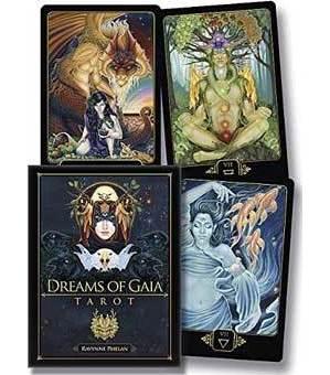Dreams of Gaia deck & book by Ravynne Phelan
