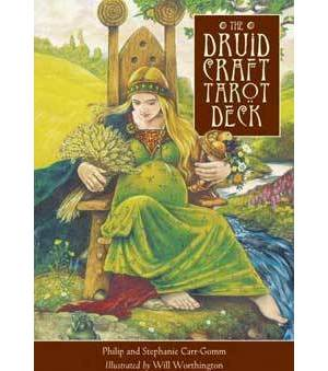 Druid Craft tarot deck by Carr-Gomm & Carr-Gomm
