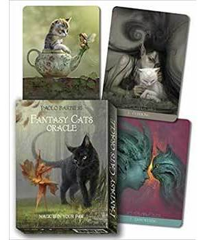 Fantasy Cats oracle by Paolo Barbieri