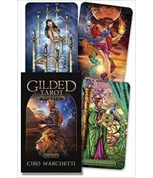 Gilded Tarot mini by Ciro Marchetti