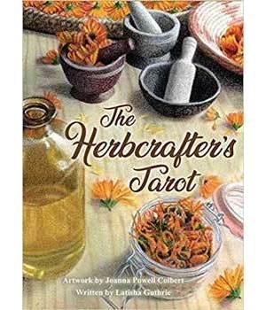 Herbcrafter's tarot by Colbert & Guthrie
