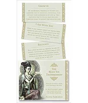 Kuan Yin Transmission cards by Alana Fairchild