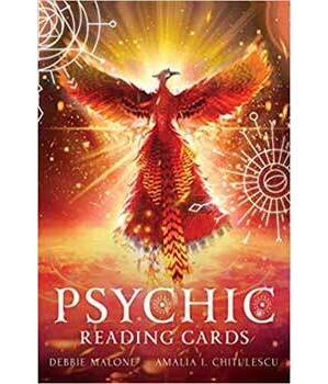 Psychic reading cards by Malone & Chitulescu