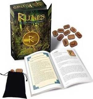Runes: Gods Magical Alphabet (deck & book) by Bianca Luna