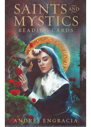 Saints & Mystics reading cards by Andres Engracia