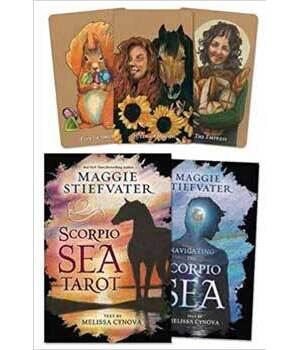 Scorpio Sea tarot deck & book by Stiefvater & Cynova