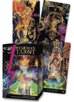 Starman Tarot deck & book by Davide De Angelis
