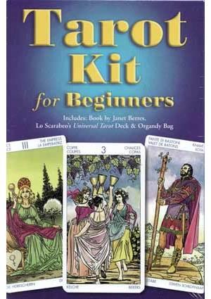 Tarot Kit For Beginners Deck& Book