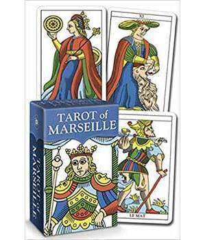 Tarot of Marseille mini by Claude Burdels
