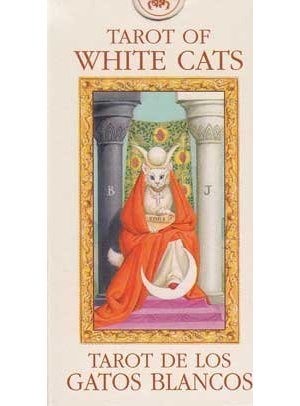 Tarot Of White Cats Mini Deck