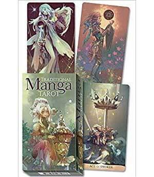 Traditional Manga tarot by Shou Xueting