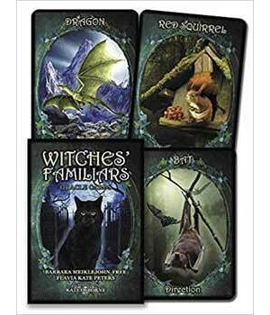Witches' Familiars oracle by Meiklejohn-Free & Peters