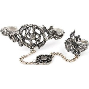 Dragon Slave Bracelet with Ring