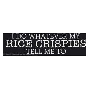 I Do Whatever My Rice