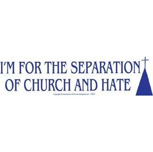I'M For The Separation