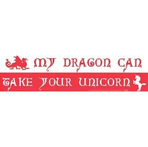My Dragon Can Take Your Unicorn