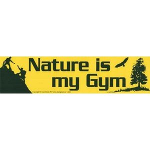 Nature Is My Gym