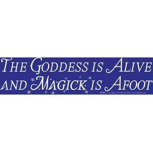 The Goddess Alive