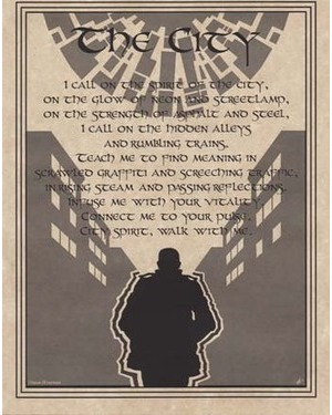 City Prayer Poster