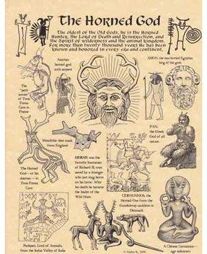 Horned God Poster