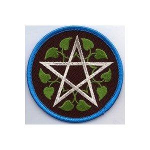 "Leafy Pentagram Patch 3"""
