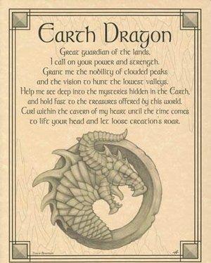 Earth Dragon Poster
