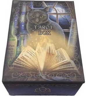 "5 1/2 "" x 4"" Bewitched Tarot Card Box"