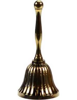 """Brass Hand Bell 4"""""""