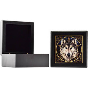 "Wolf Tile Box 5"""