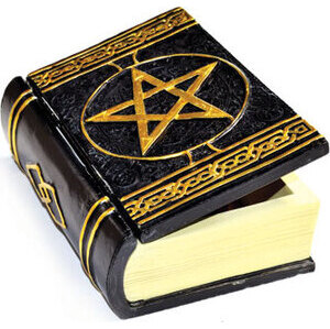 "4"" x 5 3/4"" Pentagram Book box"