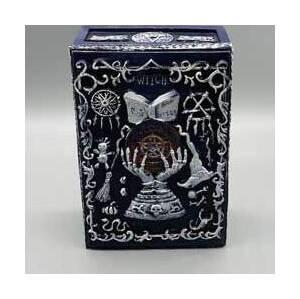 "3 3/4""x 5 1/2"" Boiok of Spells Tarot box"