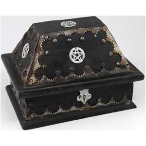 Salem Pentagram Chest 7""