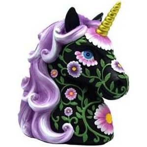 Purple & Black Unicorn bank