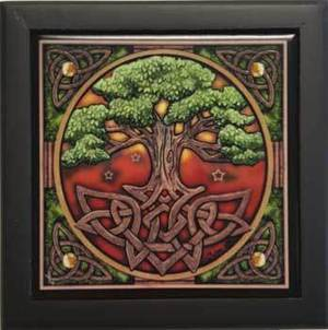 "Tree of Life Box 5"" x 5"""