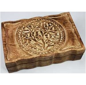 "Tree of Life Box 6"" x 9"""
