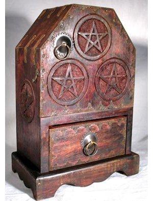 "Pentagram Cupboard 11"""