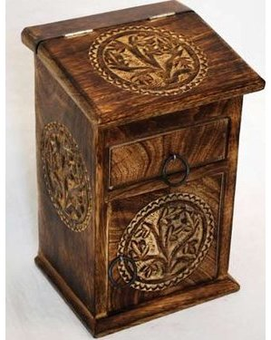 Tree of Life Herb Cupboard 8""