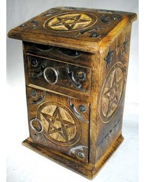 Pentagram Herb Cupboard 8 3/4""