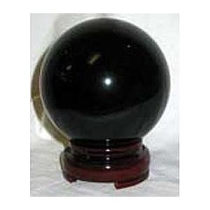 50mm Black Crystal Ball