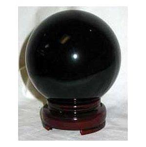 80mm Black Crystal Ball