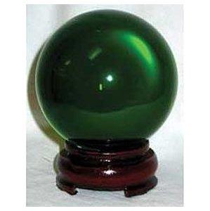 80mm Green Crystal Ball