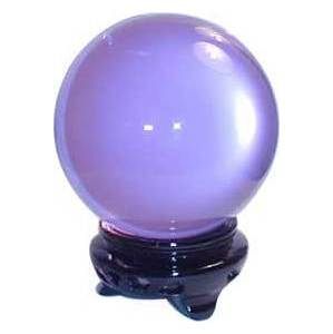 75mm Lavender Crystal Ball